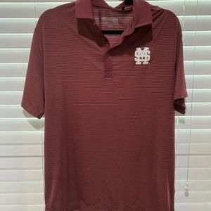 Columbia Golf Mississippi State Bulldogs Polo - M